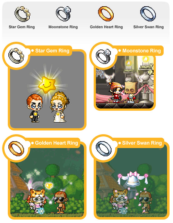 Wedding Ring Effect Not Working MapleStory