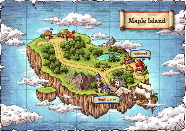 maplestory how to change map